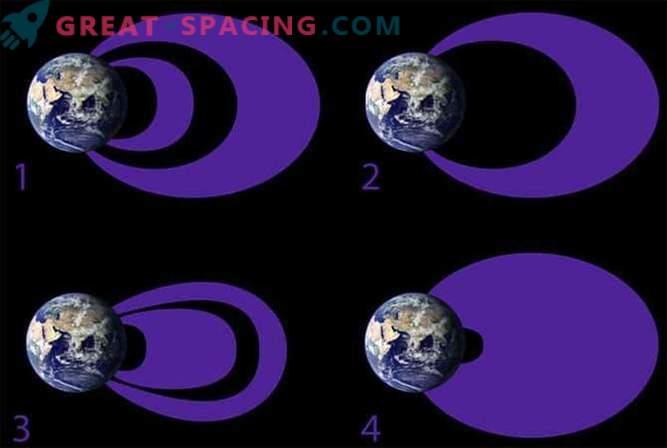Zemeljski sevalni pasovi se spreminjajo zaradi sončnih neviht.