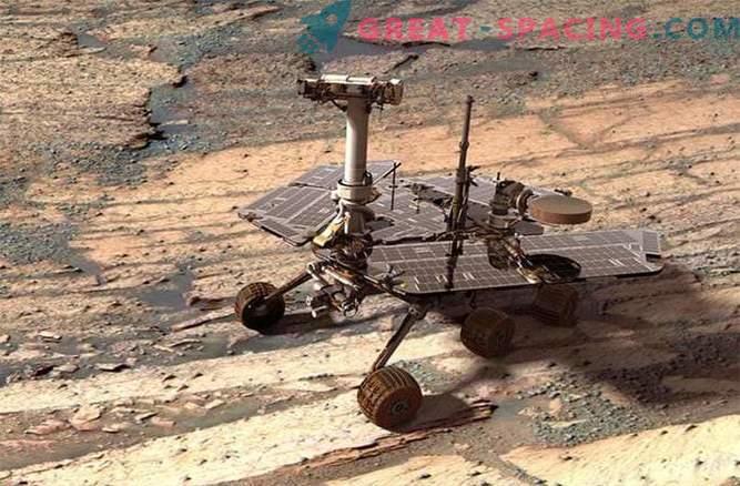 12 let na Marsu: 5 vodilnih odkritij Opportunity roverja
