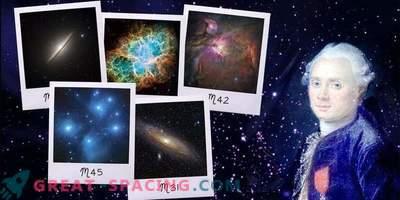 Kako se je pojavil slavni katalog Charlesa Messierja