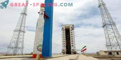 Iranski satelit ni prišel v orbito