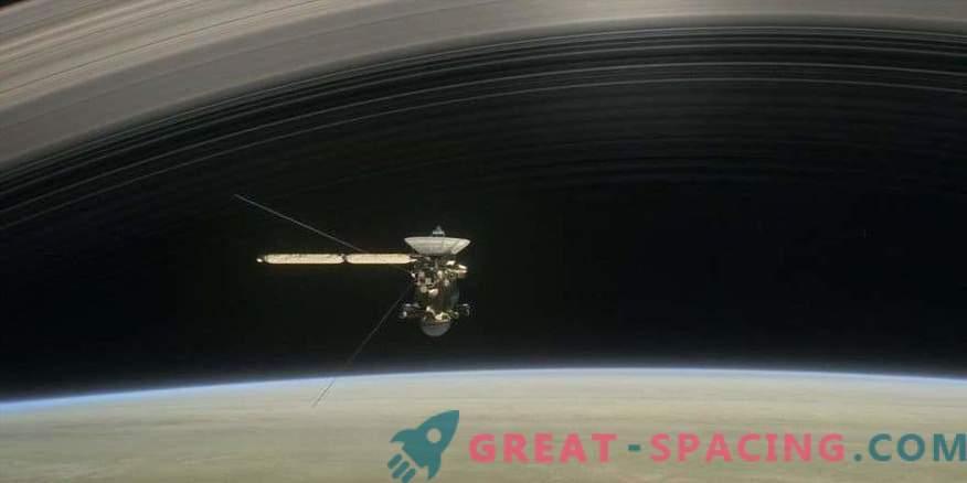 Cassini se je kopala v