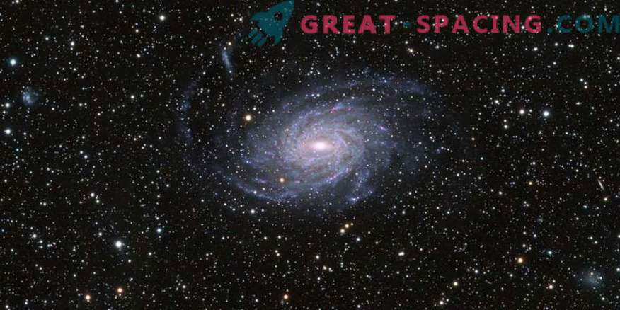 Večfrekvenčna študija NGC 6744
