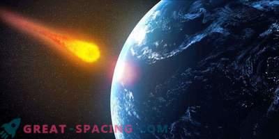 Če se asteroid udari v ocean, se bo pojavil cunami?
