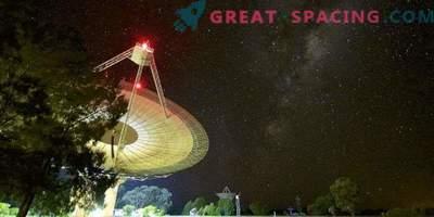 Rekordna hitra radiofuzija, ki jo je zabeležila observatorija Parks