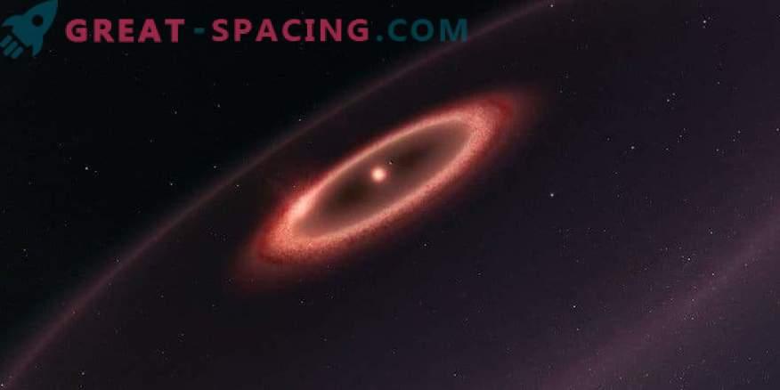 ALMA najde hladen prah okoli bližnje zvezde