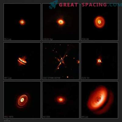 SPHERE prikazuje neverjetne diske okoli mladih zvezd