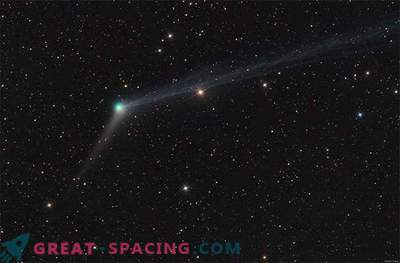Comet Catalina bo zaslepila božično nebo