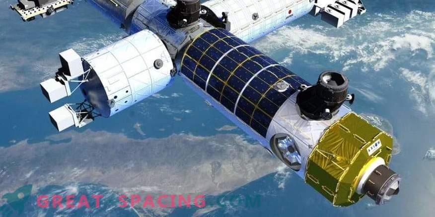 Zasebna vesoljska postaja lahko ponovno uporabi dele ISS