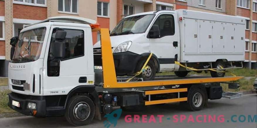 Hitro in enostavno klicanje vlečnega vozila v Nižnem Novgorodu
