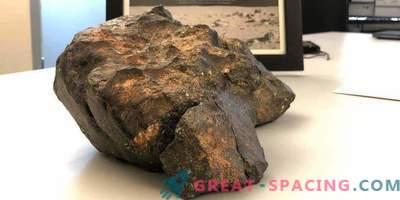 Lunarni meteorit je prodan za 600.000 $.