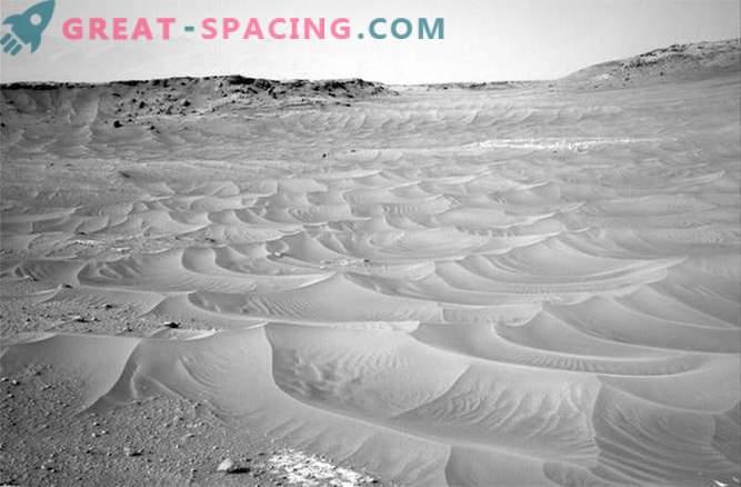 Radovednost je odkrila pesek