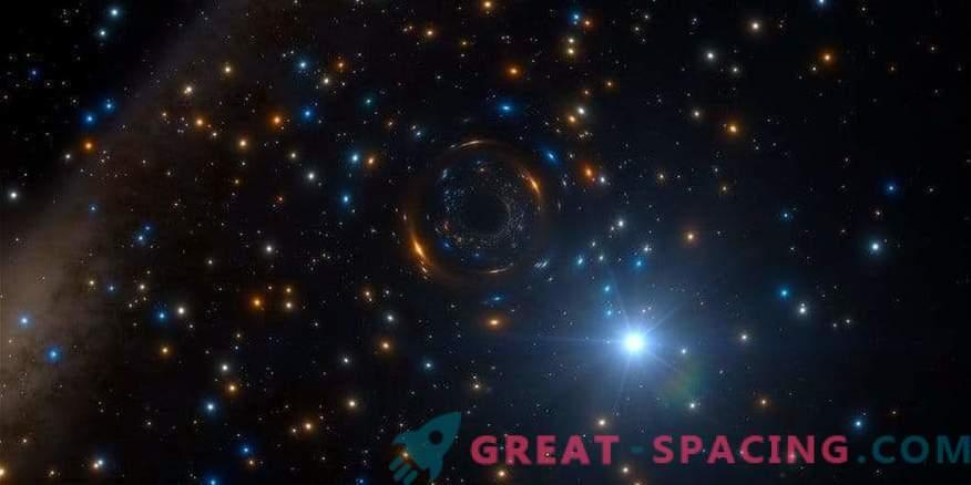 Črna luknja je skrita v obsežni zvezdni kopici