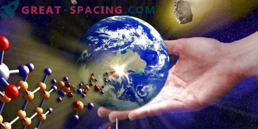 Kako se je življenje pojavilo na zemlji? Morate iskati v zvezdah