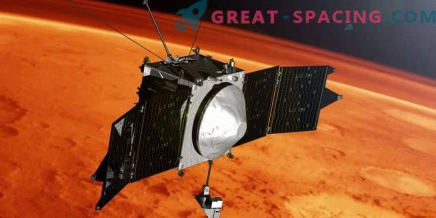 MAVEN praznuje 4 leta v orbiti na Marsu