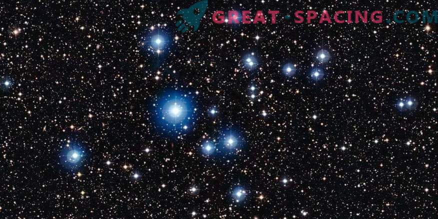 Dve vroči zvezdi kažejo magnetna polja.