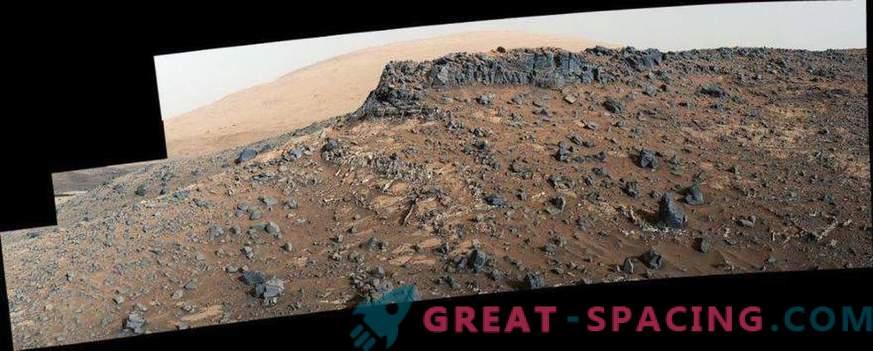 Povečana vsebnost cinka in germanija potrjuje življenjsko dobo Marsa