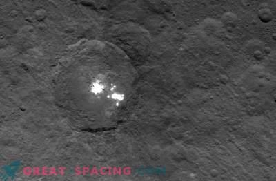 Znanstveniki še vedno ne morejo razumeti narave skrivnostnih točk na Ceresu