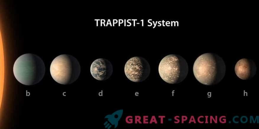 Planet Star TRAPPIST-1 je lahko življenjsko prijazen.