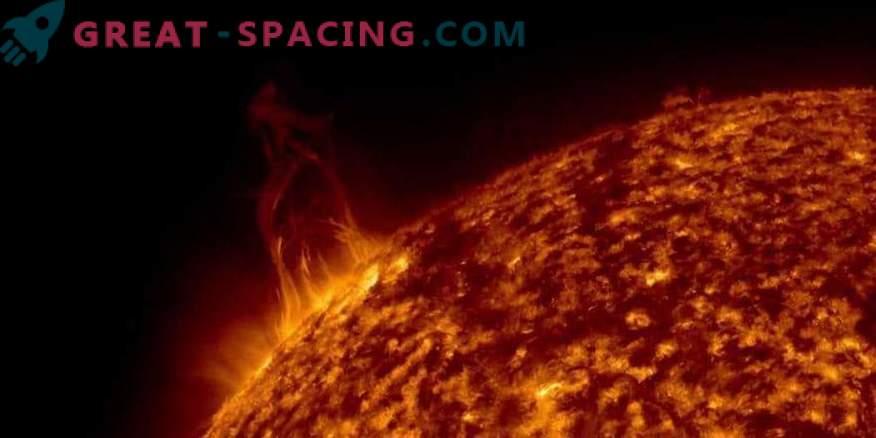 Solarni izbruhi so prizadeli Zemljo