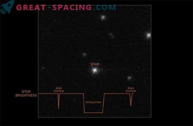 Kako so bili odkriti prstani v asteroidu. Fotografija
