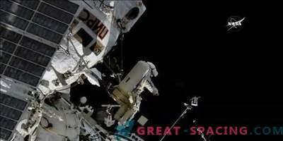 Nova antena za sledenje ptic na ISS