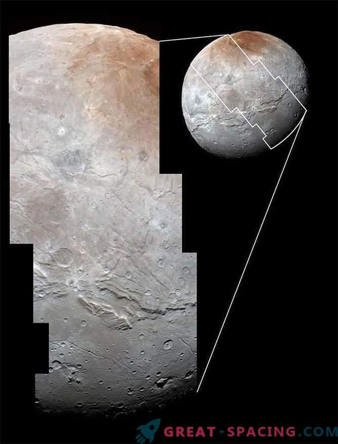 Plutonov satelit Charon: uničen, zguban, a lep