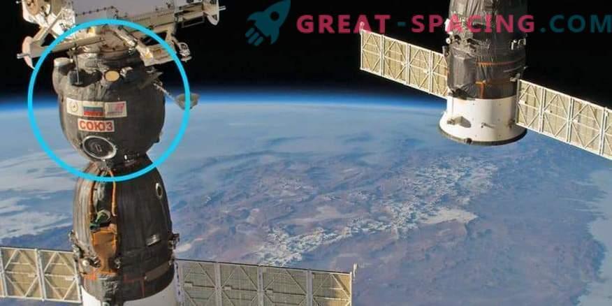 Luknja v ladji Soyuz: več namigov o človekovem posredovanju