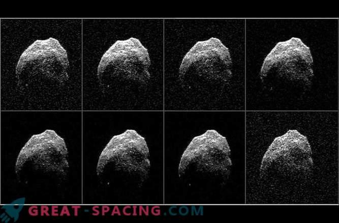 Znanstveniki so prejeli radarske slike groznega kometa