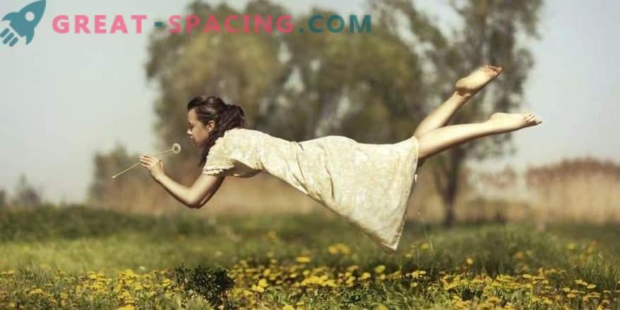 Zakaj letimo v sanjah?