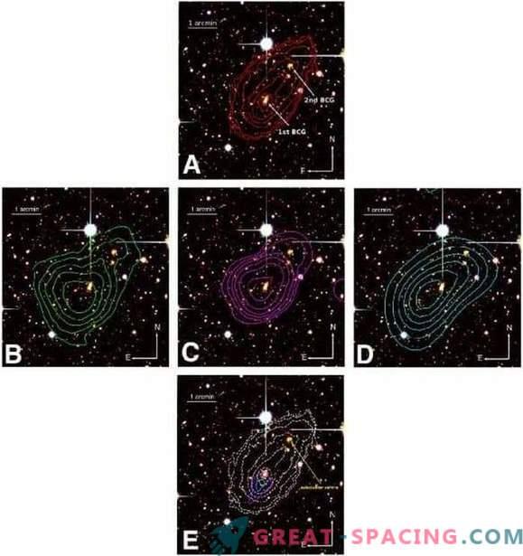 Celovita študija združitve galaktičnega grozda MACS J0417