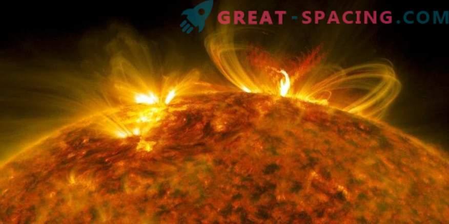Znanstveniki izboljšujejo napovedovanje sončnih izbruhov
