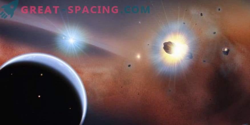 V sosednjem sončnem sistemu opazimo trke kometnega roja