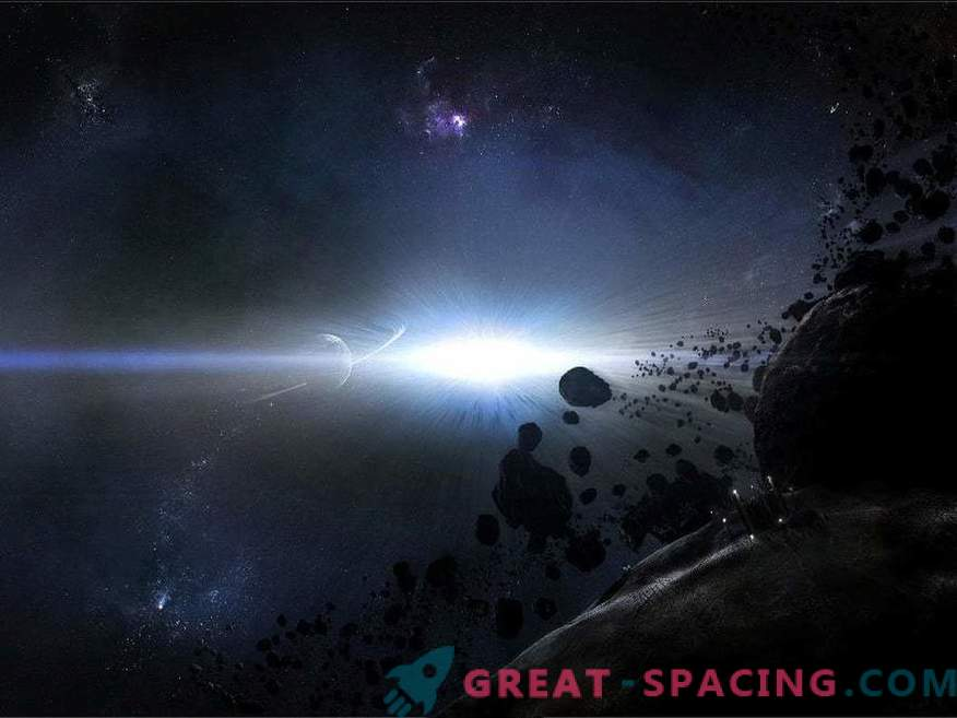 Las colisiones de un enjambre de cometas se observan en el sistema solar vecino