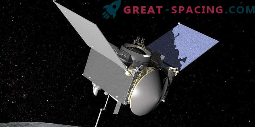Kaj bo naredila sonda OSIRIS-REx v bližini asteroida Bennu?