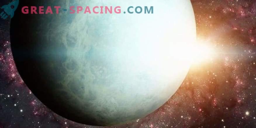 Vpliv Sonca na spremembo svetlosti Urana