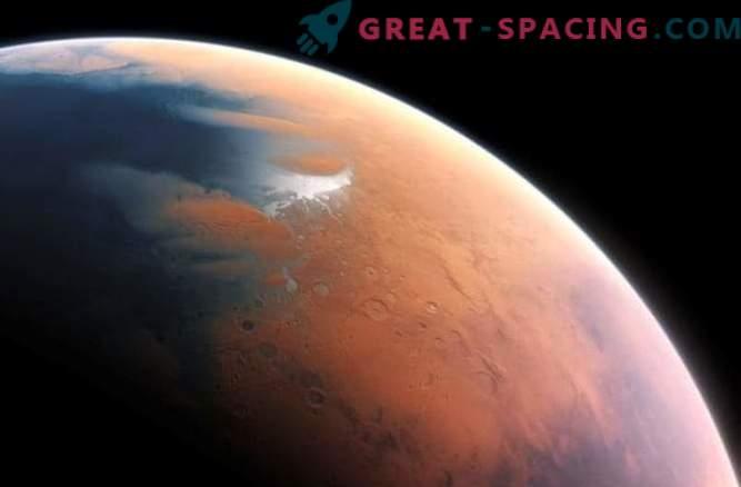 Atomski kisik na Marsu
