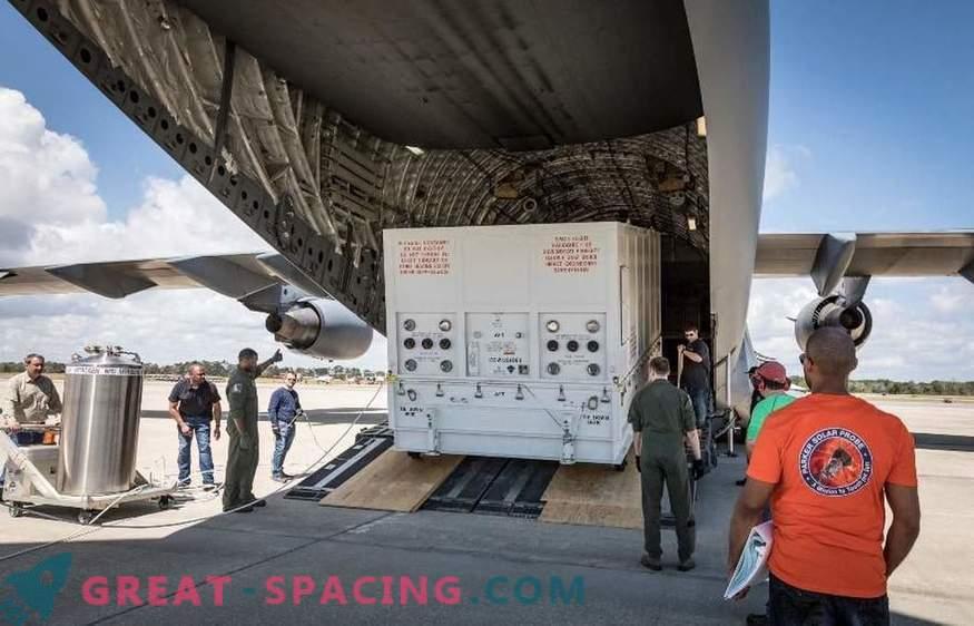 NASA-jeva solarna misija je prispela na Florido