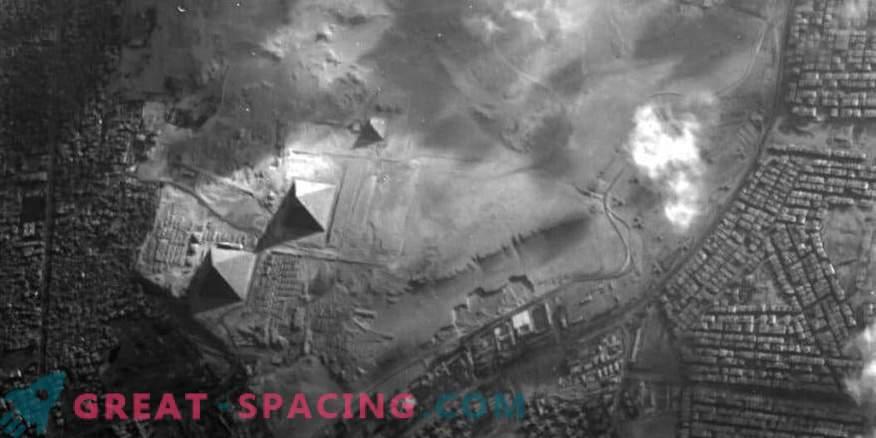 Proba-1 satelit zajame piramide