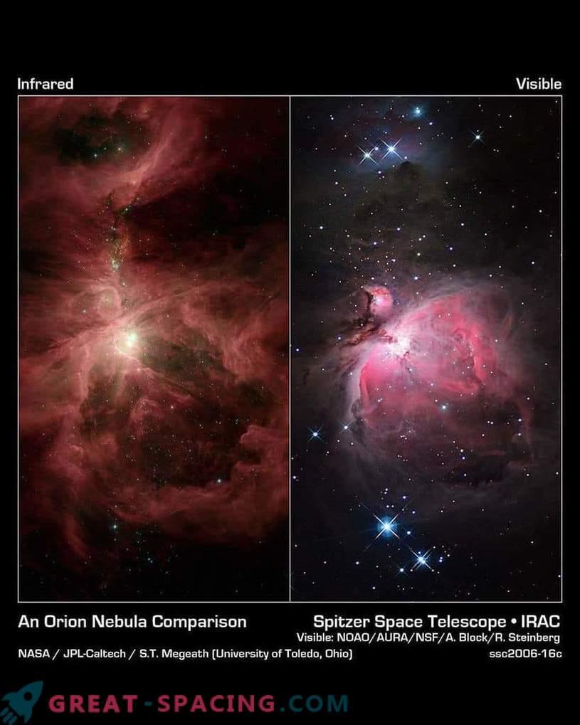 »Zvezda smrti« v ozvezdju Orion absorbira planete