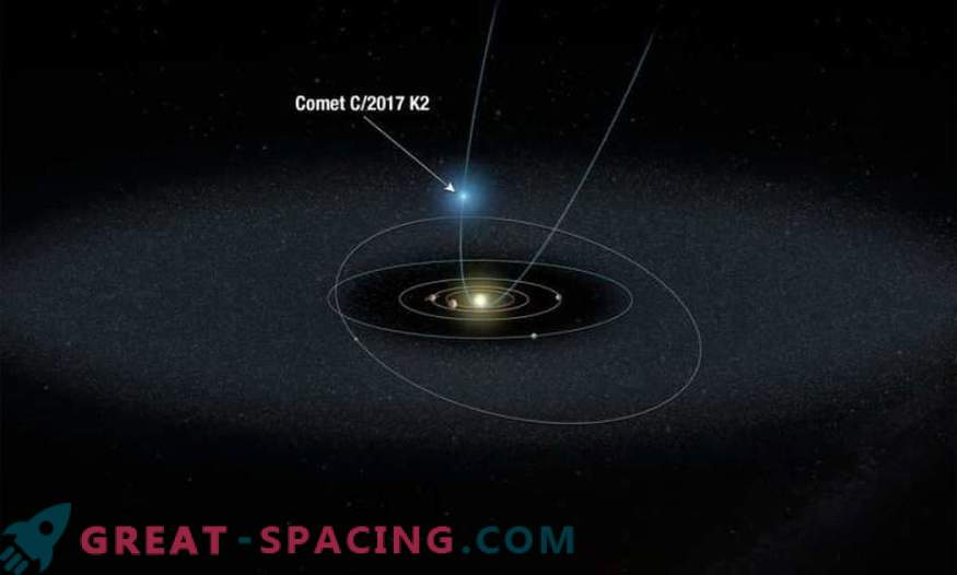 Hubble spremlja najbolj oddaljen komet