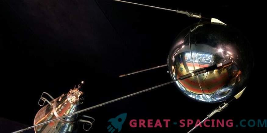 Satelit, iz katerega se je začela vesoljska dirka