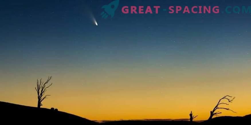 Upočasnitev kroženja komet pri približevanju Zemlji