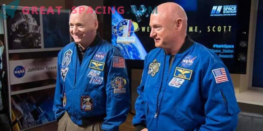 Novi podatki o poskusu z dvojnimi astronavti