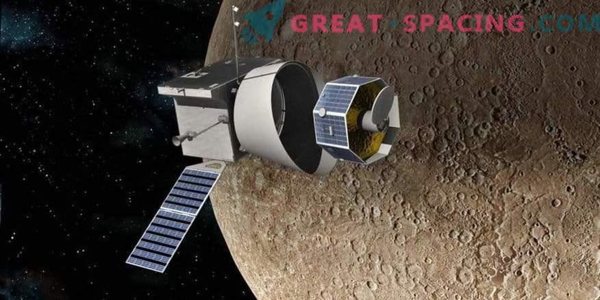 BepiColombo bo iskal vodo in magnetno polje Merkurja