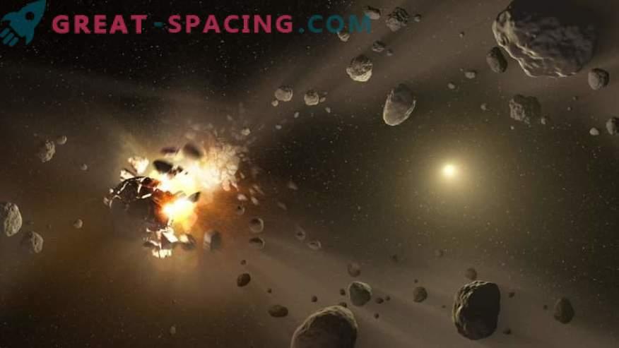 Kako nevarno je leteti skozi asteroidni pas