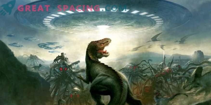 Ali lahko tuje civilizacije še vedno vidijo dinozavre na Zemlji