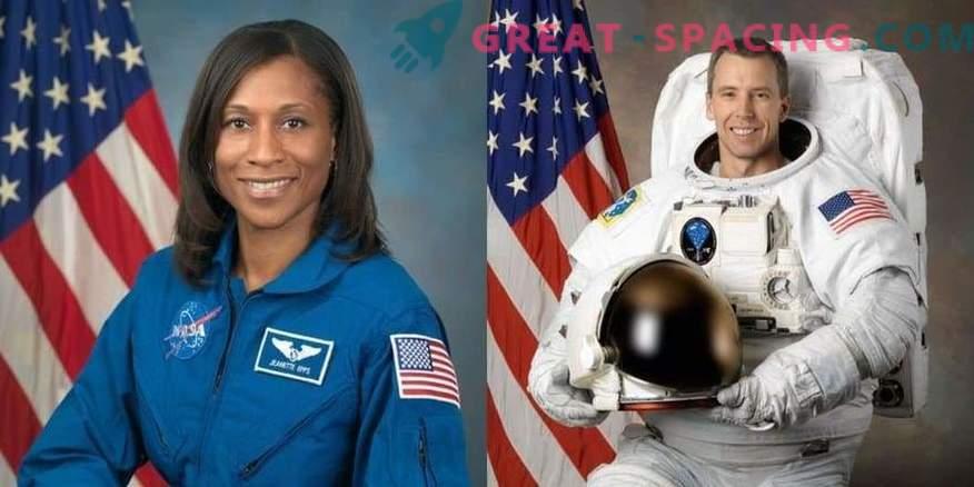 Izbrani so bili astronavti za vesoljsko misijo 2018.