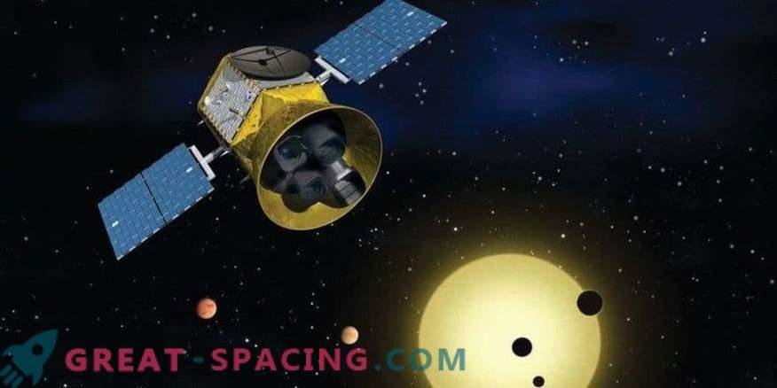 TESS zajema komet pred začetkom znanstvenih študij