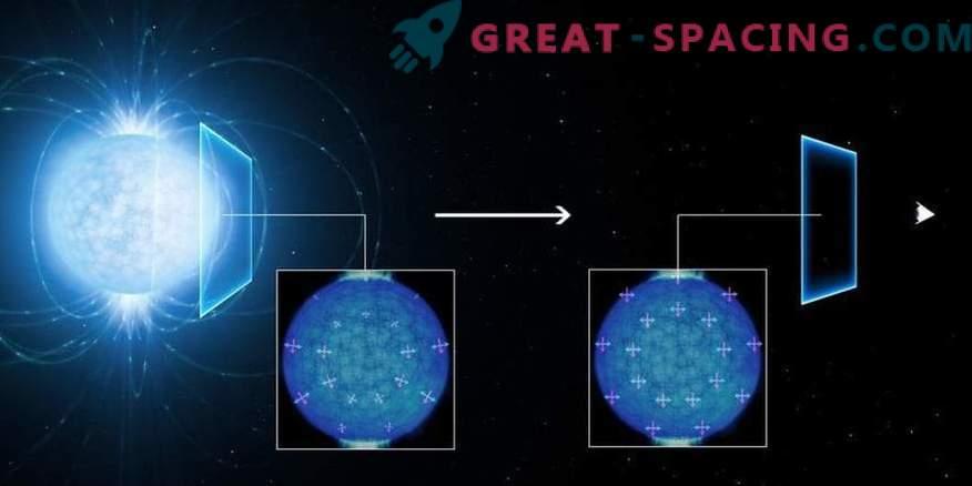 Kvantni »duhovi« so bili opaženi v skrajnem magnetizmu nevtronske zvezde