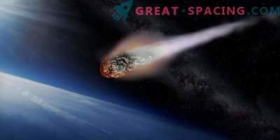 Asteroid bo hitel mimo Zemlje